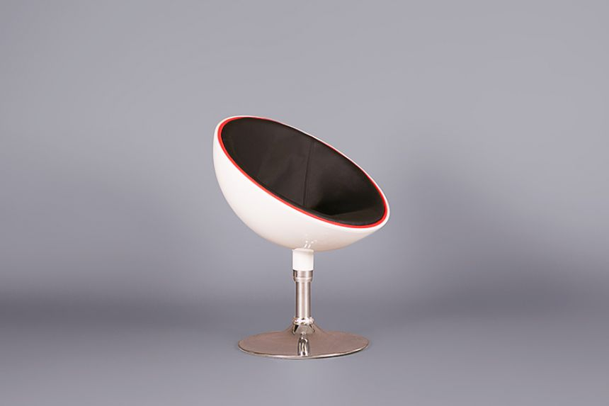Egg Pod Chair   White