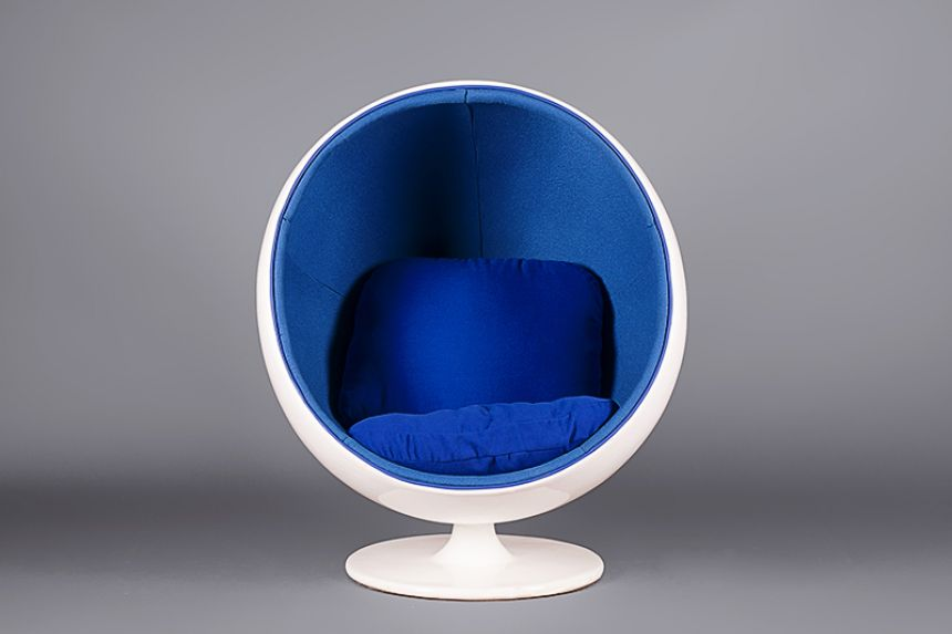 Egg Pod Chair   Blue
