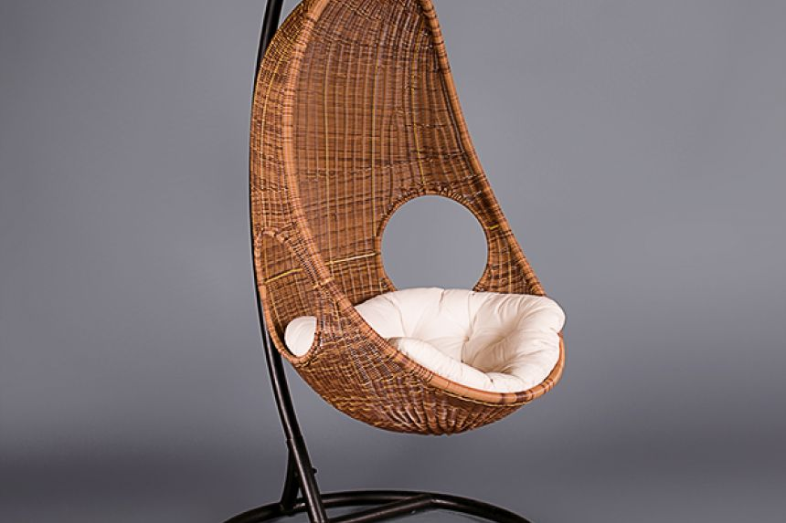 Bon Large Wicker Hanging Chair
