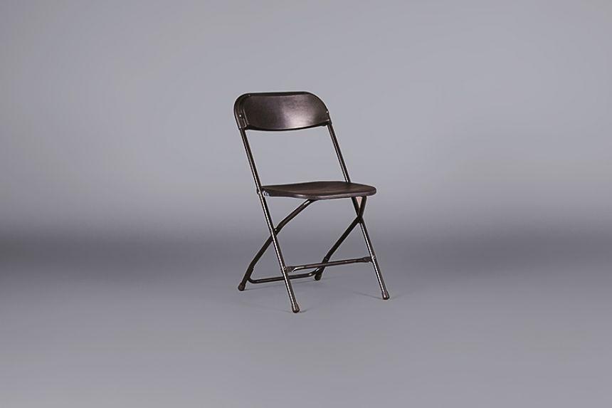 Samsonite Folding Chair - Black & Samsonite Folding Chair: Black - Chairs - Furniture on the Move