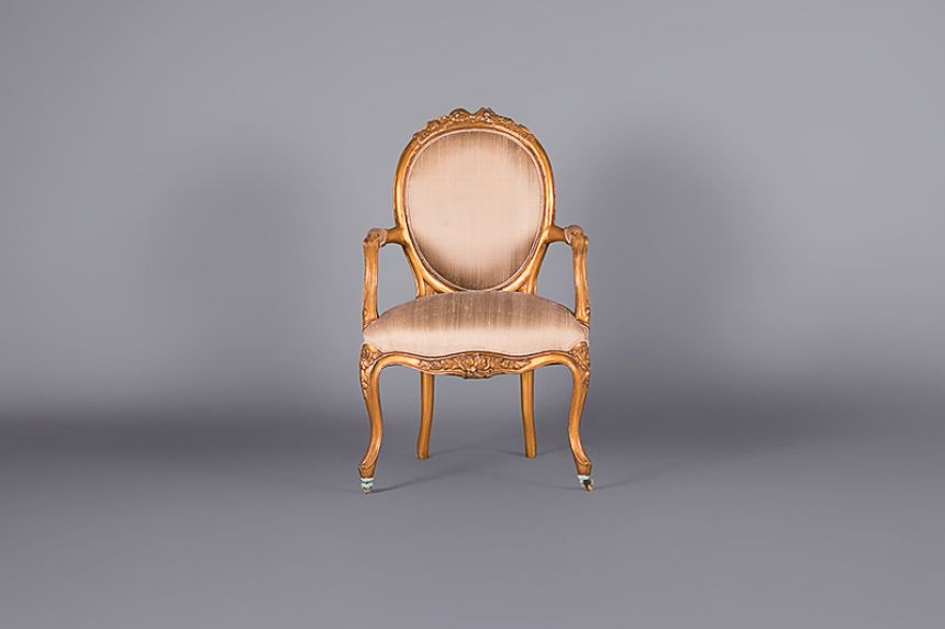 Louis Versailles Silk Nursing Armchair - Chairs ...