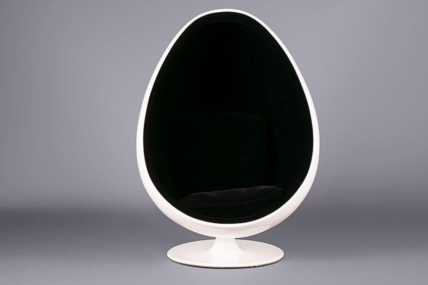 Egg Pod Chair   Black