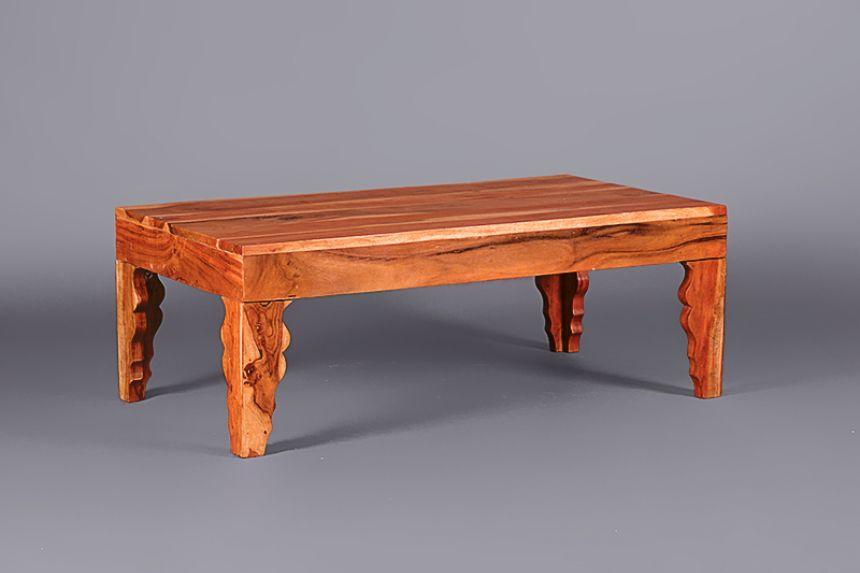 Modern Louis Acacia Coffee Table