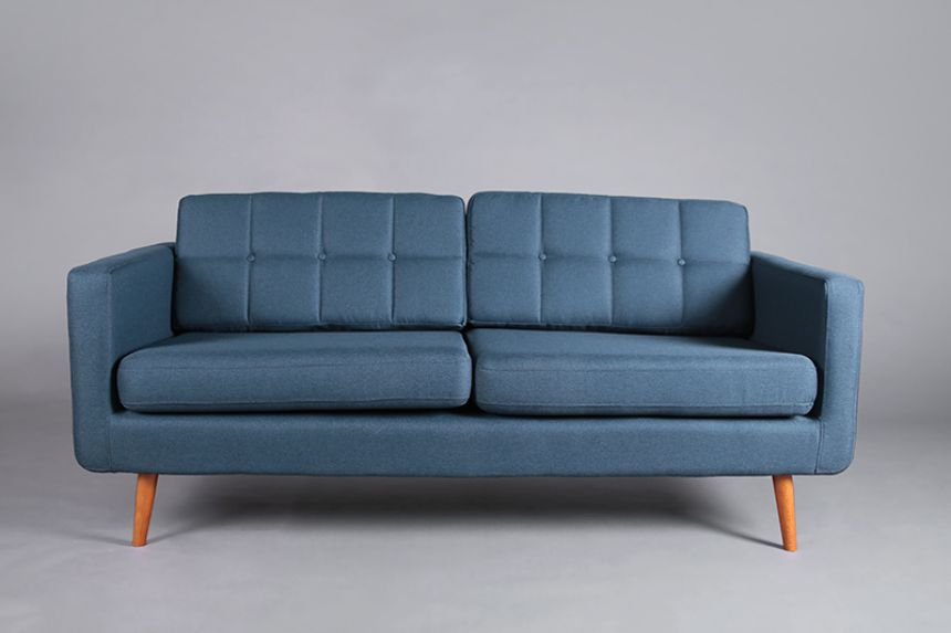 Brooklyn Sofa   Midnight Blue
