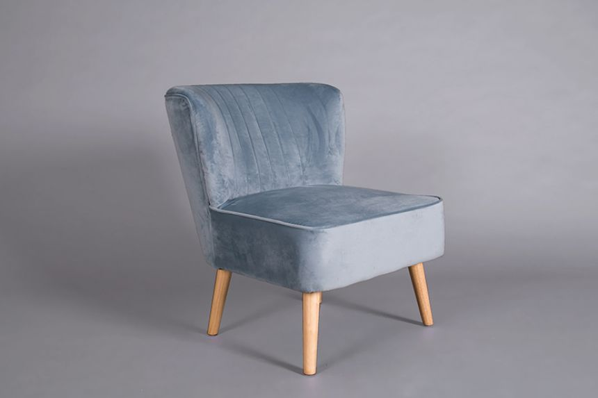 Ariel Chair   Duck Egg Blue
