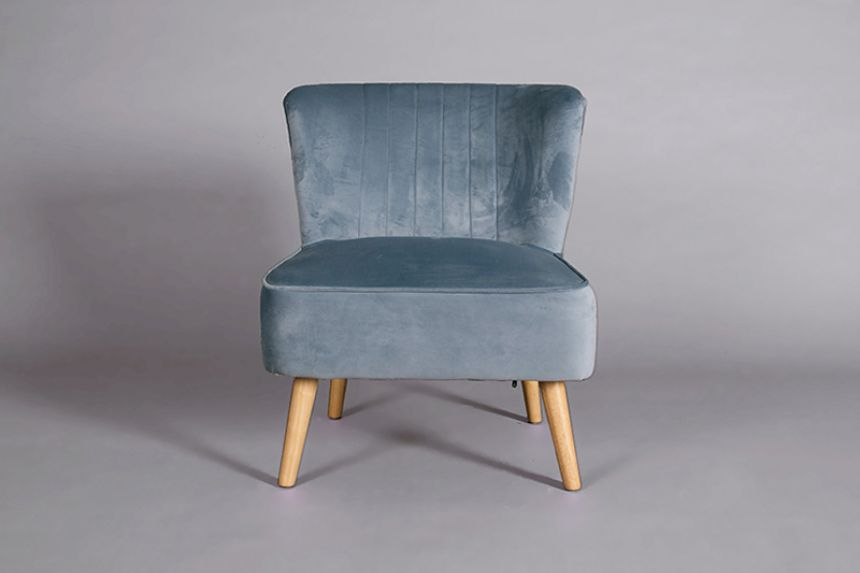 Ariel Chair Duck Egg Blue Accent Chairs Furniture On