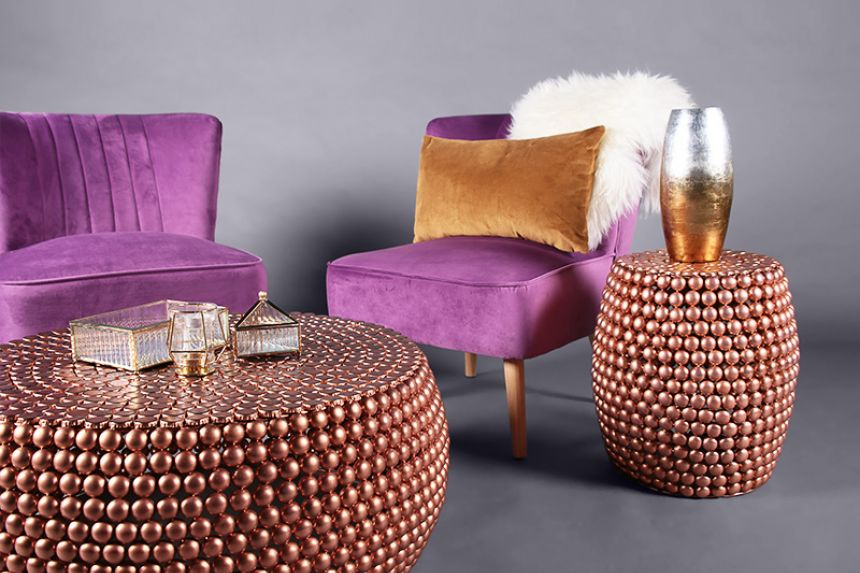 Ariel Chair Plum Accent Chairs Furniture On The Move