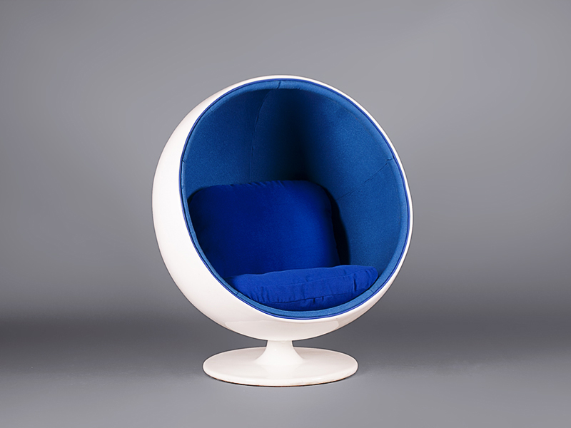 egg pod chair: blue - chairs - furniture on the move