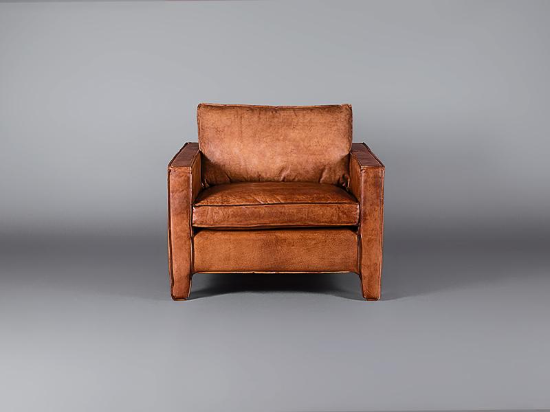 Italian Leather Tan Single Seater Chairs Furniture On
