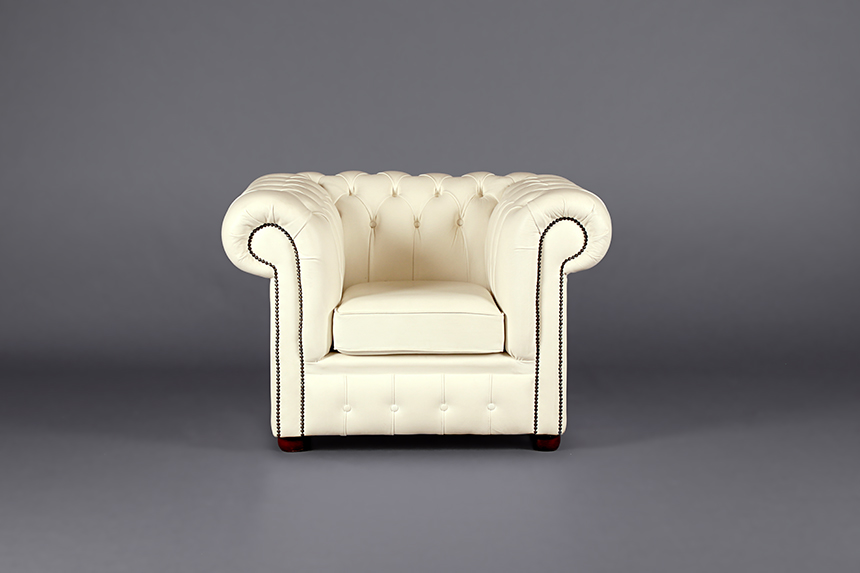 Chesterfield Club Armchair White Chairs Furniture On