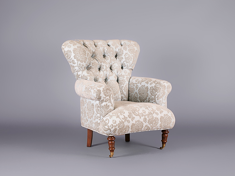 Chatsworth Blue Armchair - Chairs - Furniture on the Move