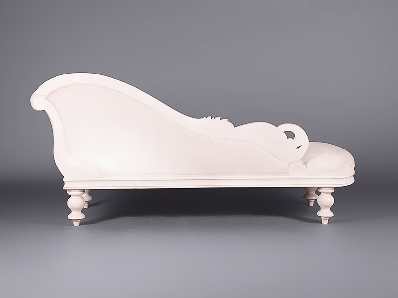 Louis chateau carved chaise lounge sofas furniture on for Carved chaise lounge