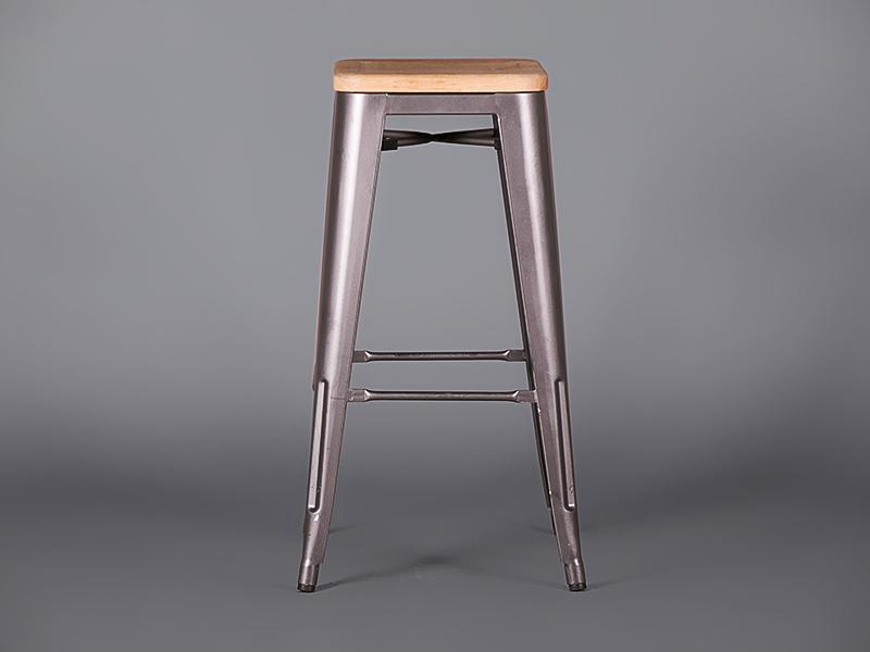 Metal Bar Stool Gunmetal Grey Stools Furniture On The Move