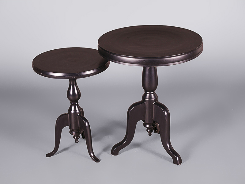 Black bistro coffee table tall coffee tables and side - How tall is a coffee table ...
