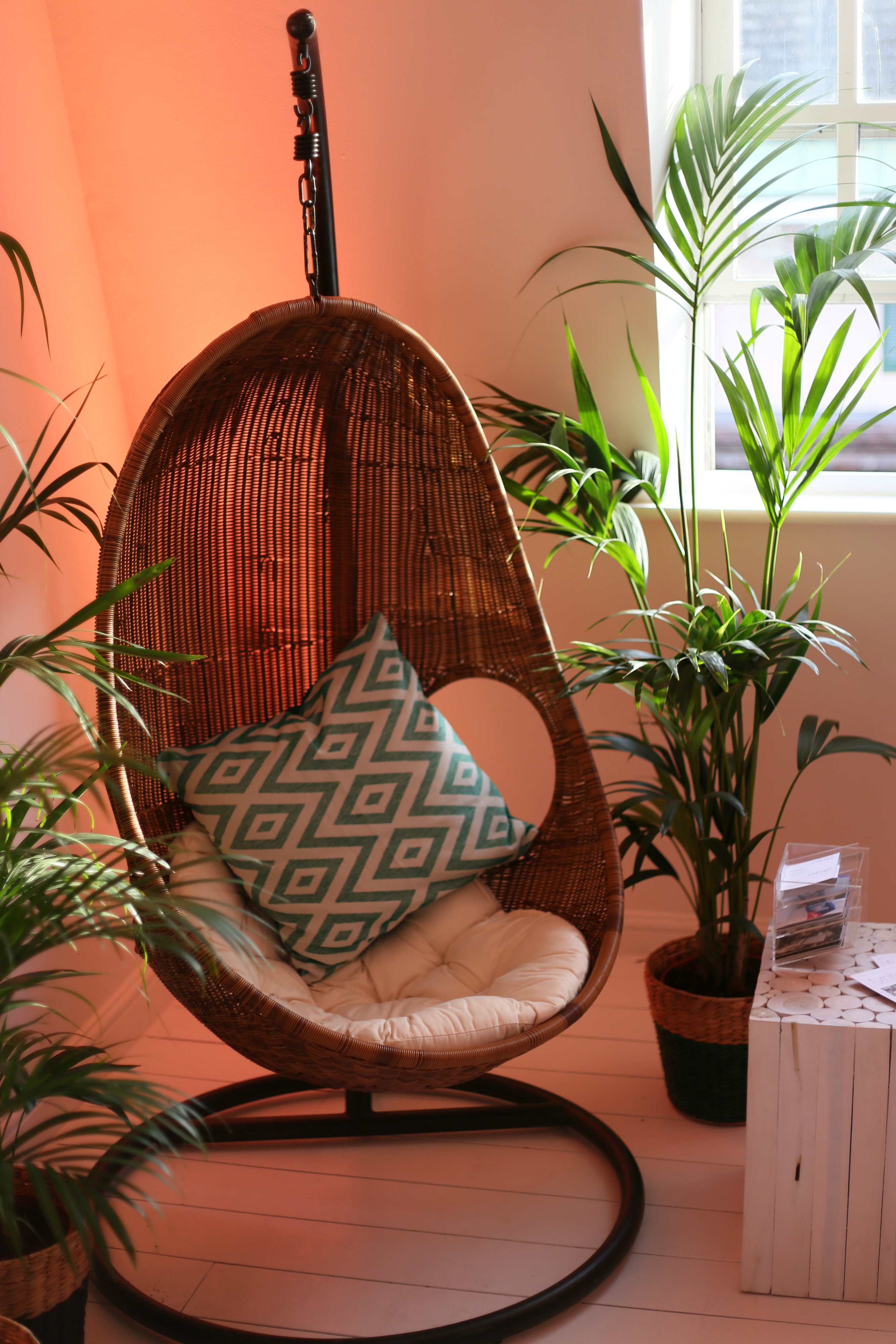 Large Wicker Hanging Chair - Chairs - Furniture on the Move