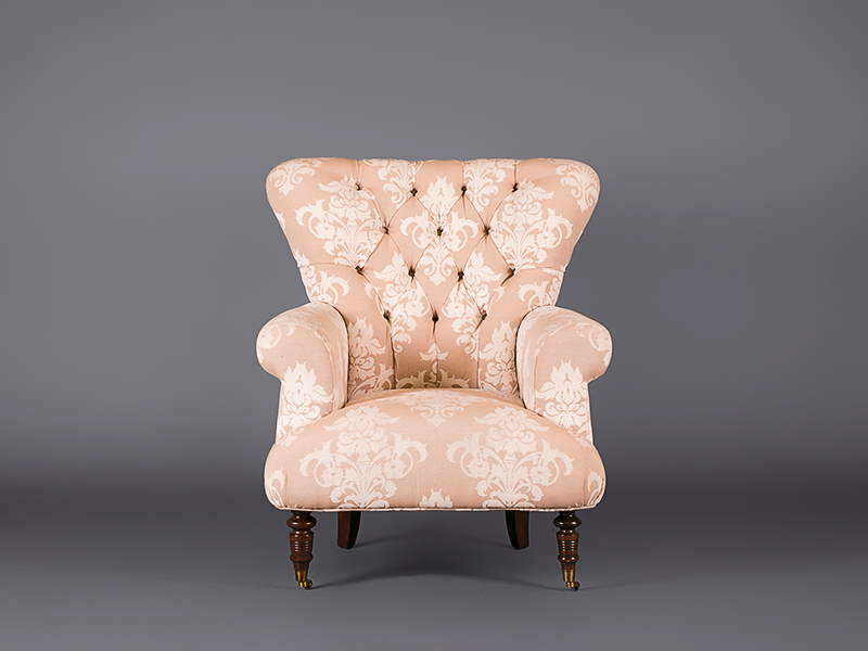 Chatsworth Cream Armchair - Chairs - Furniture on the Move