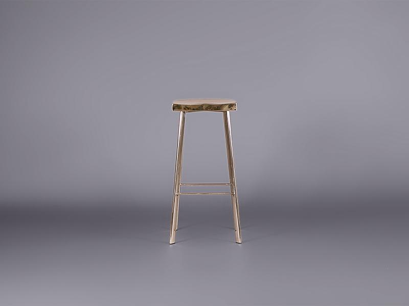 Bohemian Chrome Bar Stool Stools Furniture On The Move